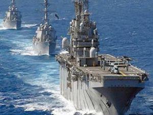 Akdeniz'de donanma hareketliliği!