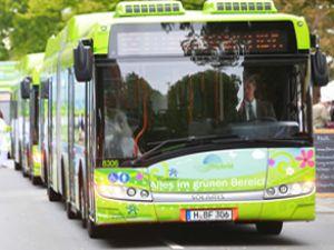 Allison'ın hibrit otobüsleri yemyeşil!