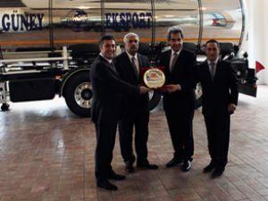 Tanker'in teslimat töreni gerçekleştirildi