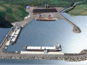 AB'li heyet Filyos liman projesini bölgede inceledi