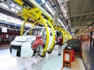 Otomotiv üretimi ocakta yüzde 10 azaldı