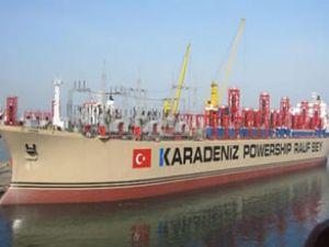 Lübnan elektrik üreten gemi alımını onayladı