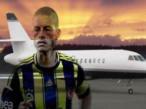 Alex, 14 saatlik bir uçuşla Brezilya'ya dönecek