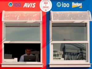 İDO terminallerinde araç kiralama dönemi başlıyor