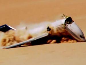 Düşürülen uçağın görüntüleri yayınlandı