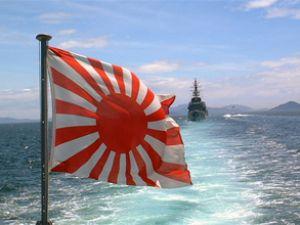 Japon donanmasından gövde gösterisi
