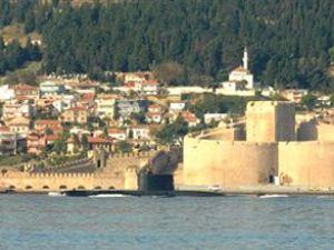 Çanakkale Denizaltısı Ege Denizi'ne açıldı