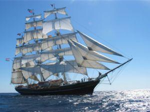 Clipper yelkenlisi lojistik sektörünü ağırladı