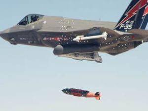 F-35A uçuş sırasında silah atışını gerçekleştirdi