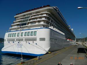 'Marina' ilk kez Marmaris Limanı'na demir attı