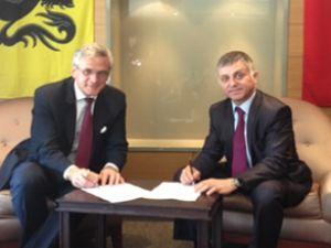 Belçika ile Türkiye arasında önemli işbirliği