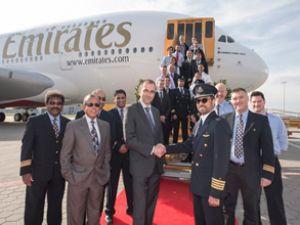 25'inci A380 Emirates filosuna eklendi