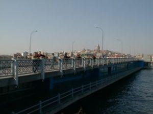 Galata Köprüsü bu gece 3 saat kapanacak
