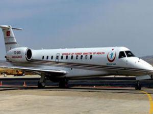 İzmir Havalimanı'na ambulans uçak geliyor