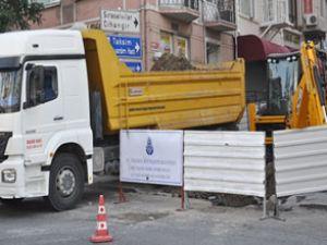 Taksim'e ilk kazma vuruldu