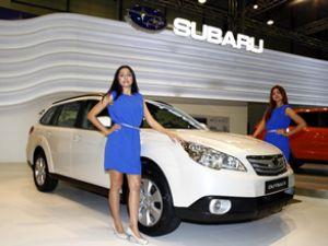 Ödüllü spor otomobil Subaru BRZ Autoshow'da
