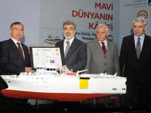 Yüzde 100 yerli sismik geminin inşası başladı