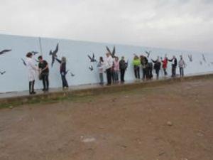 Burhaniye İskele Yat Limanı güzelleştiriliyor