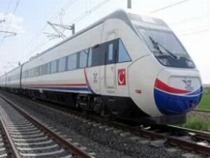 Yüksek Hızlı Tren'i hırsız yavaşlattı