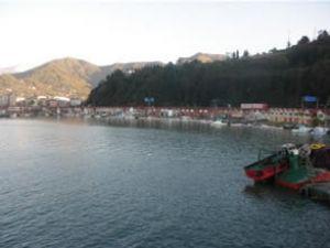 Arhavi Limanı'nda bakım çalışması başladı