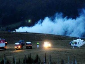 Cezayir'e ait askeri uçak Fransa'da düştü