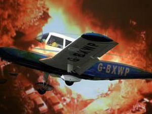 ABD'de evin üzerine küçük uçak düştü