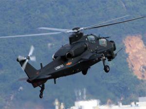 Çin helikopterinin görüntülerini yayınladı