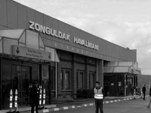 Zonguldak'a yurt dışından ilk uçak seferi