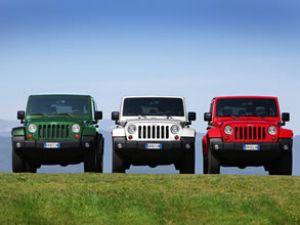 Jeep Wrangler'a Yılın 4x4'ü ödülü!