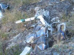 Prag'da askeri uçak düştü, 1 kişi öldü