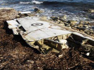 T-37C eğitim uçağının kanadı bulundu