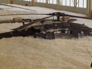 Yanlış alarm helikopteri bu hale getirdi