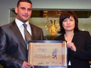 Bulgarlar'ın en prestjli ödülünü THY aldı