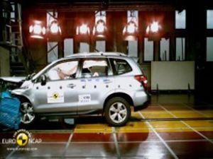 Subaru Forester'a Euro NCAP'tan tam not