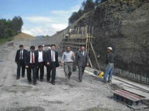 Karayolu yatırımı 586 milyon liraya ulaştı