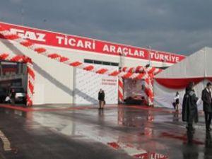GAZ, hattını Sakarya'daki fabrikaya taşıdı