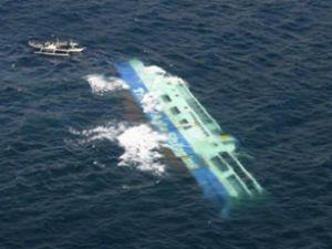 Hollanda sahilinde iki gemi çatıştı