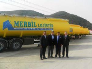 Merbil, tankerlerini Tırsan'dan teslim aldı