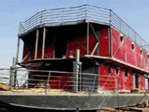 Korku yüzünden Nuh'un gemisini yaptı