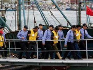 Güney Kore 24 Çinli balıkçıyı tutukladı