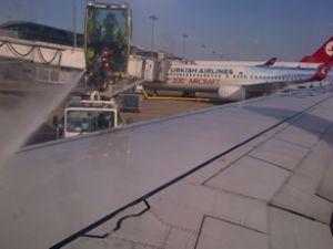 Uçaklar için De-Icing sezonu açıldı