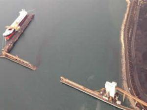 Panama Kanalı'na 30 ton kömür döküldü