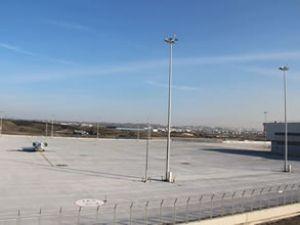 İSG'de yeri park alanları oluşturuldu