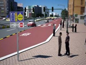 Üç yeni caddede toplu taşıma yolu belirlendi