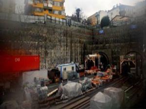 Marmaray'ın ray döşeme işlemi tamam