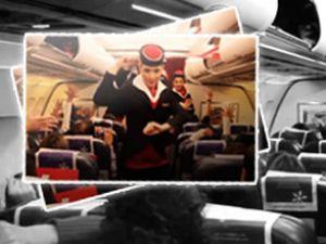 Gangnam Style havayollarınada sıçradı