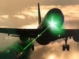 Pilotların kabusu lazerciler enselendi