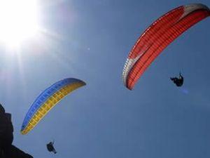 THK, Yamaç Paraşütü Şampiyonası başladı