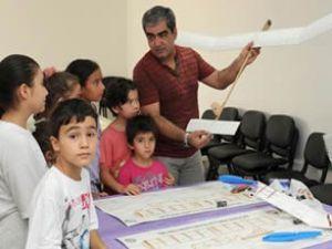 Zonguldak'ta model uçak kursu sürüyor