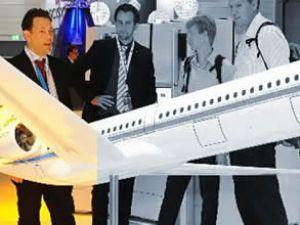 Almanlar ters kanatlı bir yolcu uçağı yaptı